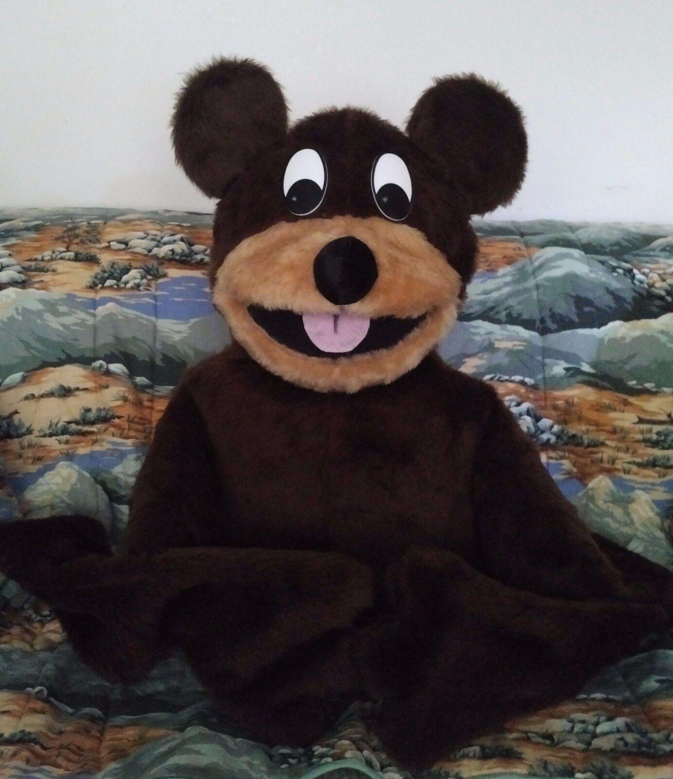 Cartoon Human Arm Bear Puppet for VBS ministry, ventriloquists, teachers,zoology