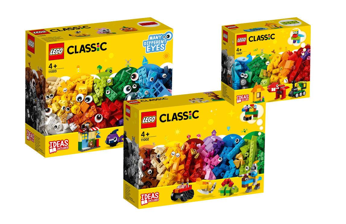 LEGO® Classic 11001 11002 11003  LEGO Bausteine - Starter Set Bauspaß Figuren