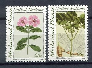 19229-UNITED-NATIONS-New-York-1990-MNH-Medicinal-Plants