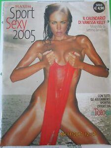 Calendario Vanessa Incontrada.Dettagli Su Calendario Maxim Sport Sexy 2005 Vanessa Kelly