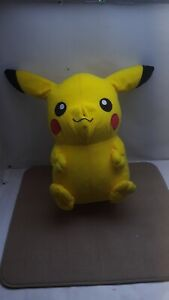 """Official Licensed Pokemon Pikachu Plush Stuffed Toy Kids Large 14"""" Authentic"""