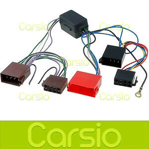 audi tt amplified iso lead wiring harness connector stereo radio adaptor pc9 401 ebay. Black Bedroom Furniture Sets. Home Design Ideas