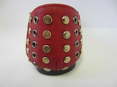 Girls Red/Black Spot On Dolly Shoes UK 10-2 H2272