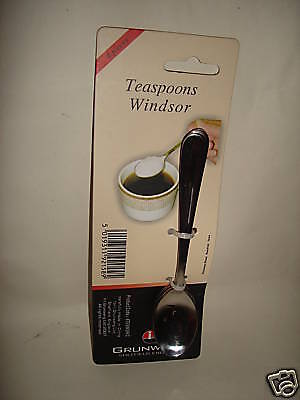 New Windsor Stainless Steel Salt And Condiment Spoons Spoon 2SLTSWSR//C PK2