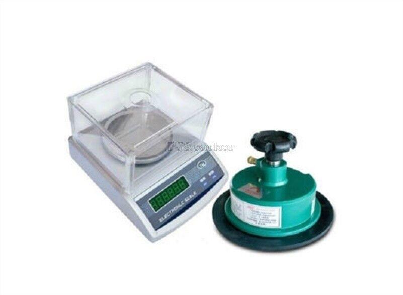 Balanza electrónica de precisión 600G 220V 0.01G Redondo Cortador de muestra 0.01G 220V 100Sqc Zc f101e1