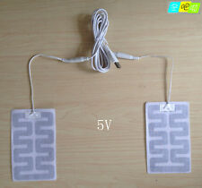 NEW USB Heating pad Thermal pad thermal pad labyrinth type heating cloth 8*13CM