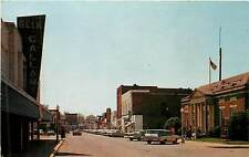 Georgia, GA, Thomson, Main Street 1968 Postcard