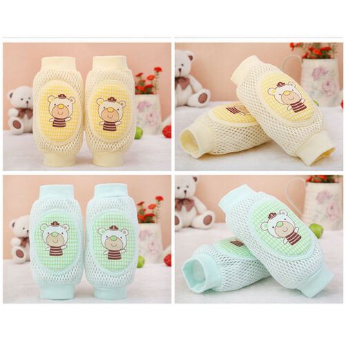Toddler Safety Knee Pad Baby Animal Mesh Sock Elbow Pads Crawl Kneecaps Pad