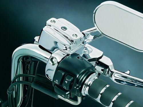 Kuryakyn 9119 Brake Clutch Control Dress-Up Cover Kit Harley Dual Disc 96 Chrome