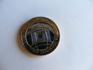 Details about Trinity House £2 Coin 1514 / 2014 With Printing Error