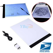 LED Tracing Light Box Board Artist Tattoo A4 Drawing Pad Table Stencil Supply