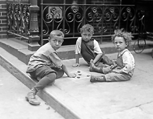 """1910-1915 East Side Children, NYC, NY Vintage/ Old Photo 8.5"""" x 11"""" Reprint"""