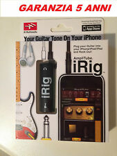 IRIG AMPLITUBE PER IPHONE 4, 4S, 5, 5S, 5C, 6, 6 PLUS, 6S, 6SP, IPAD