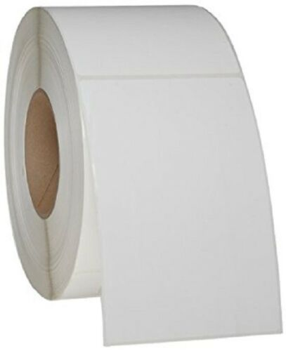 "6000 4x6 Direct Thermal Labels 6 Rolls Zebra Compatible 3/"" Core Per Roll = 1000"