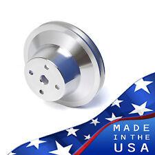 Pontiac V Belt Water Pump Pulley 1v 350 400 428 455 Billet Aluminum Underdrive