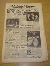 MELODY MAKER 1953 APRIL 18 JAZZ FRANK SINATRA STAN KENTON MARY CHASE +