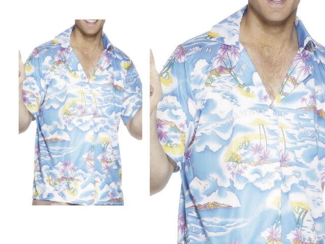 MENS HAWAIIAN SHIRT STAG BEACH HAWAII ALOHA PARTY SUMMER HOLIDAY FANCY S XXL D2