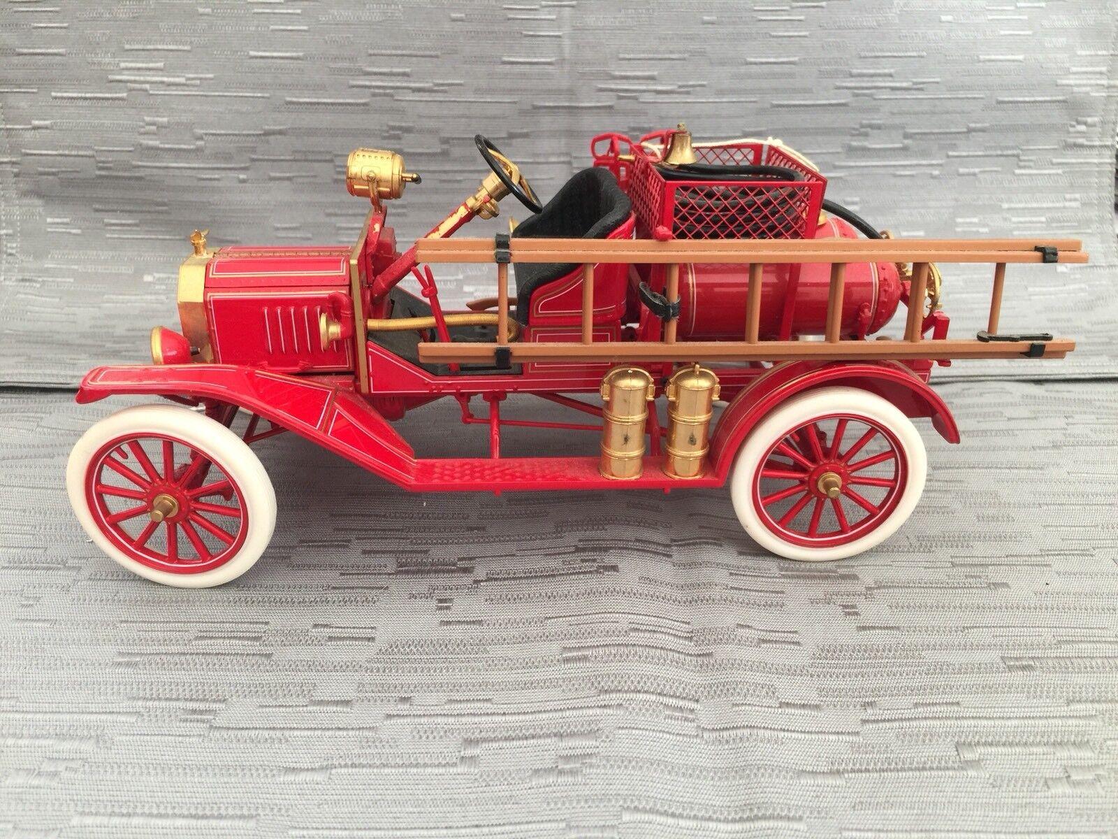 Franklin Comme neuf 1916 Ford Modèle T Fire Engine moulé sous pression échelle 1 16 B11UQ62