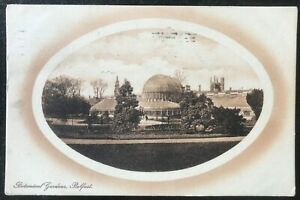 Botanical Gardens Belfast Postcard Co Antrim Northern Ireland 1911