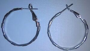 Boucles-oreilles-anneaux-25mm-diam-plaque-argent-925