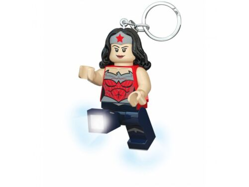 LEGO Super Heroes Wonder Woman Schlüsselanhänger mit 2 LED Lampen