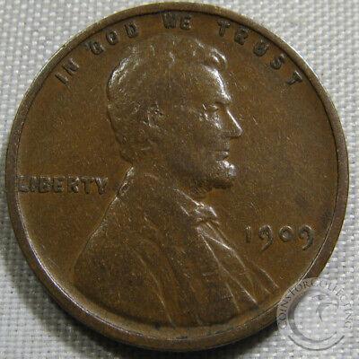 Lincoln Cent 1909-P Fine