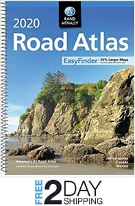 Best Scale 2020 Rand Mcnally USA Road Atlas 2020 BEST Large Scale Travel Maps