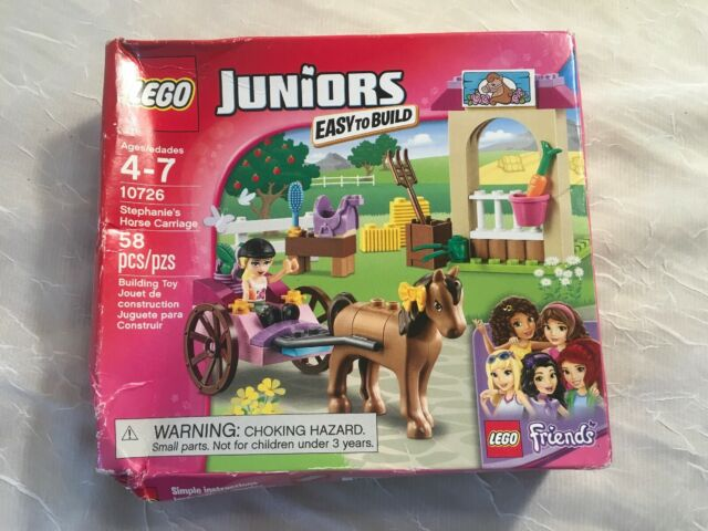 LEGO 10726 Juniors Friends HORSE CARRIAGE New /& Sealed