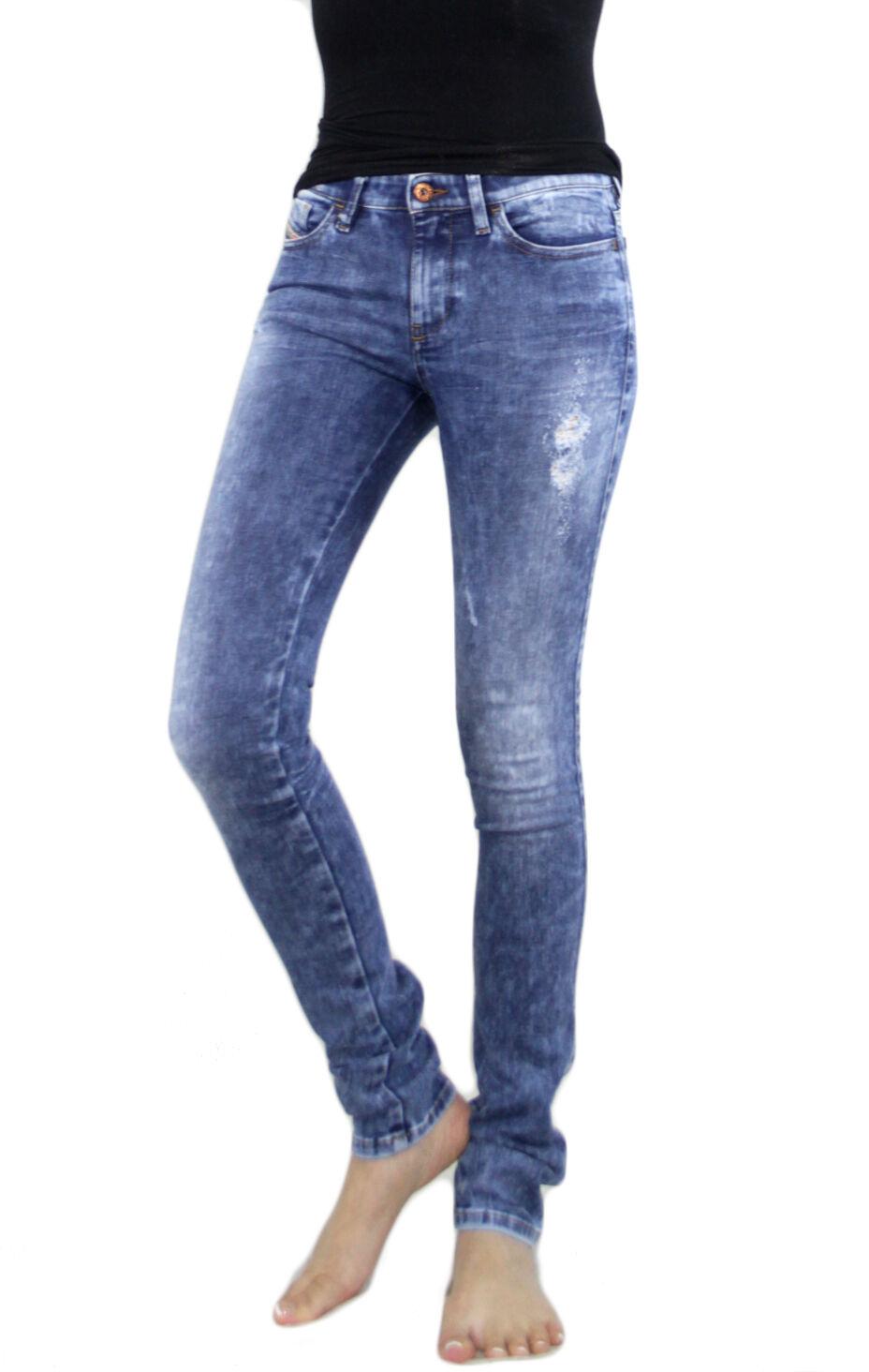 Diesel Women Skinzee 829F Vintage Super Slim Skinny Jeggings Stretchy Jeans