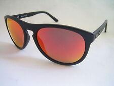 Gafas de sol de policía Astral 2 S1871 U28R Mate Negro Iridium Espejo BNWT Genuino