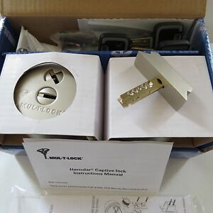 Mul T Lock Mt5 Hercular Double Cylinder Captive Key Deadbolt