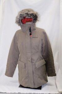 Image is loading NWT-Marmot-Georgina-Featherless-Jacket-Desert-Khaki-Medium- df9f738641fb