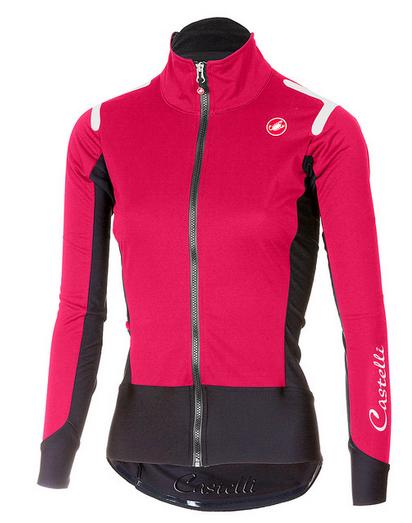 Castelli Cycling Women Alpha RoS W Light Jacket ELECTRIC/MAGENTA/BLACK Small S