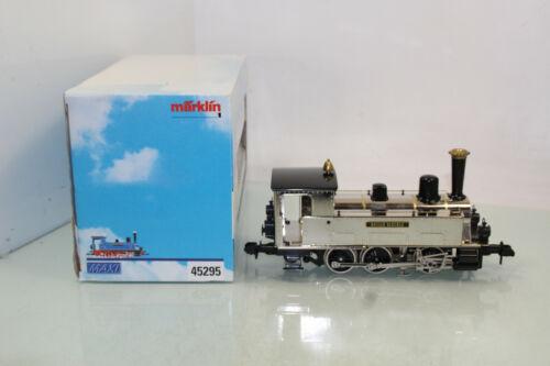 js8103 Märklin Piste 1 MAXI 45295 Locomotive a Vapeur HEILIX BLECHLE Delta DECO Somo neuf dans sa boîte