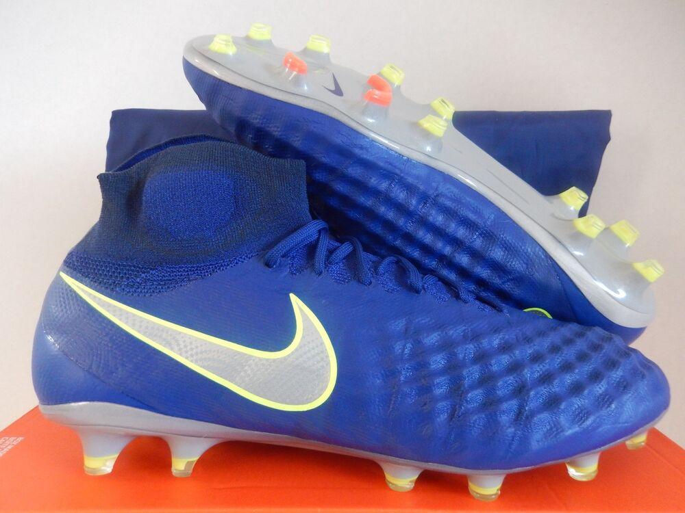 NIKE MAGISTA OBRA II FG DEEP ROYAL BLUE-CHROME  Chaussures de sport pour hommes et femmes