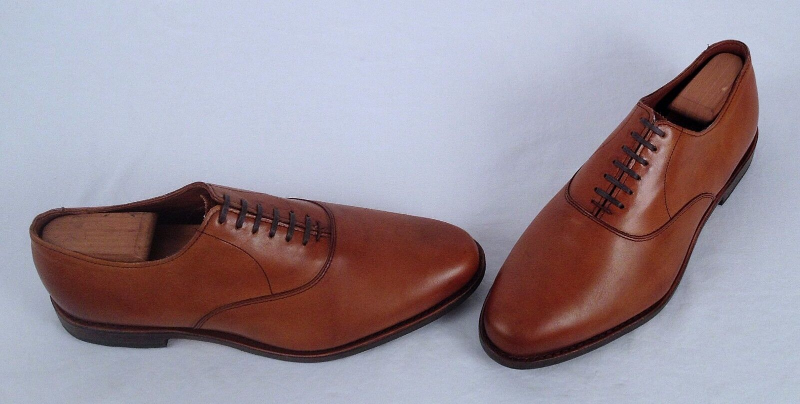 nuevo    Allen Edmonds 'Carlyle' Derby Oxford-Nogal Tamaño 10 3E
