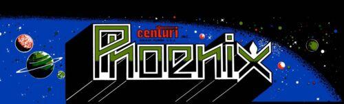 """Phoenix Arcade Marquee 26/"""" x 8/"""""""