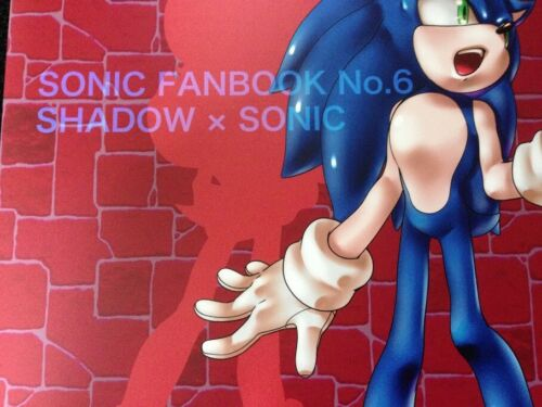 DEEP LOVE Muy/_Muy furry B5 40pages Details about  /SONIC THE HEDGEHOG Doujinshi Sonic x Shadow