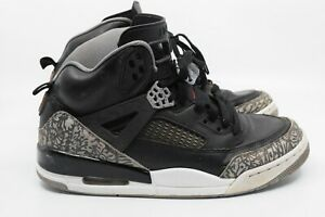 sale retailer e8220 d4b52 Image is loading Nike-Air-Jordan-Spizike-OG-Black-Cement-Grey-