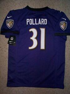 Details about NIKE Baltimore Ravens BERNARD POLLARD nfl Jersey YOUTH KIDS BOYS CHILDRENS (xl)