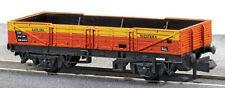 Peco NR-7J 5 Plank Ferry Tube Wagon Satlink Orange/Yellow 'N' Gauge Tracked Post