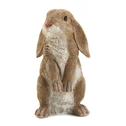 High Quality Rabbit Garden Statue Sculpture Bunny Art Outdoor Indoor Yard Patio Home  Decor | EBay