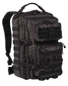 George Eliot Snuggle up Turn down  Zaino Incursore Mil-tec Tactical Black Backpack US Assault 36 50 litri  INCURSORE | eBay