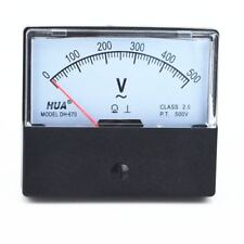 1pc Ac Analog Meter Panel Voltmeter Voltage Meter Dh 670 0 500v Gauge
