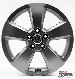 4-VW-Jetta-5C-Llantas-de-Aleacion-17-Pulgadas-6x17-ET48-Original-Audi-Tm