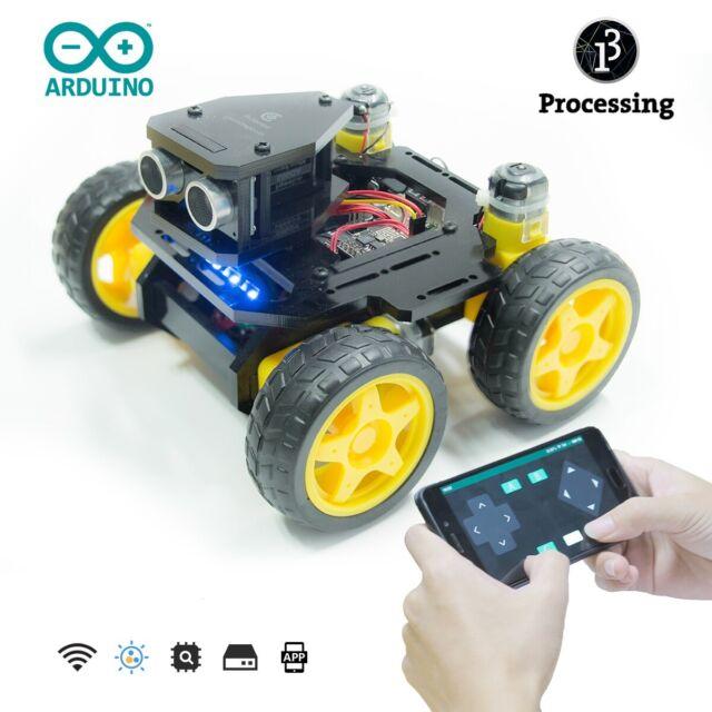Adeept Robotics Model Arduino Smart Car kit Electronics DIY Ultrasonic Toys