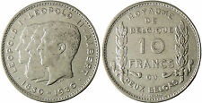 BELGIQUE  , LEOPOLD  I ,  II  ET  ALBERT  ,  10  FRANCS  2 1830-1930