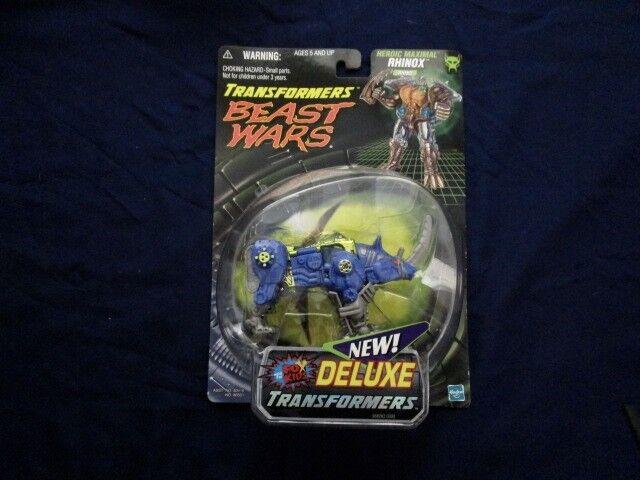 Transformers Beast Wars bluee Rhinox Sealed MIB BOX