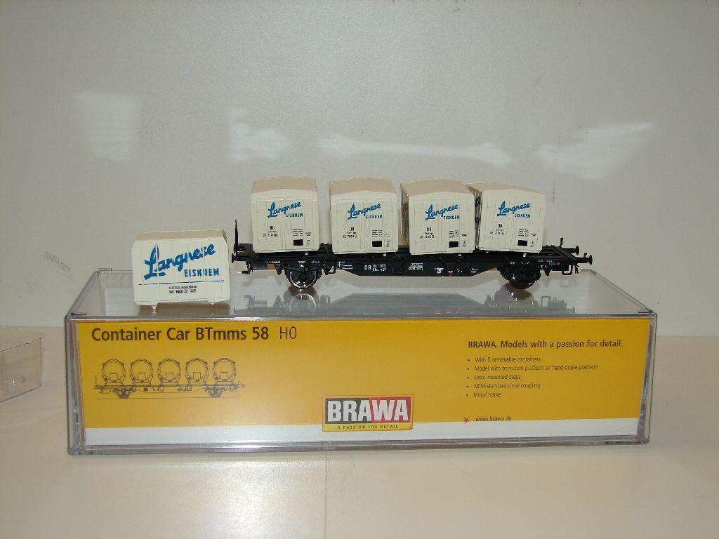 BRAWA 49118 carro contenitore btmms 58  obbligano  merce nuova