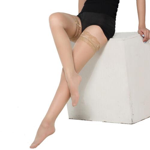 Womens Lace Mesh Fishnet Over Knee High Thigh Stockings Pantyhose Socks Club